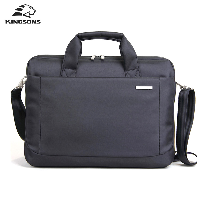 Kingson Waterproof Business Laptop Handbag Air Cell Shockproof Notebook Computer Briefcase For Men and Women Tote High Quality