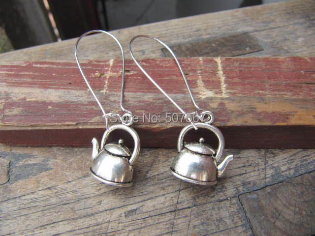 Aliexpress com : Buy 10pairs / lot wholesale Teapot Earrings  Simple Dangle  Earrings Gifts for Her  Tea Lover  Tea Time  Unique Gifts from Reliable
