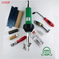 Высокое качество фена 1600 Вт горячего воздуха ручной инструмент полы комплект/Винил сварки комплект 110 230 В