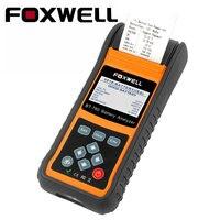 FOXWELL BT780 12V 24V Car AGM GEL Battery Tester Analyzer With Printer Measuring Internal Resistance Starting Charging System