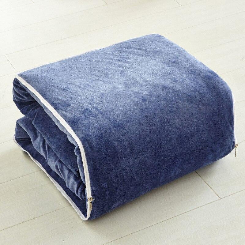 Style moderne velours tissu doux traversin + couverture deux usage coussin bonne qualité oreiller été couette oreiller décoratif livraison gratuite