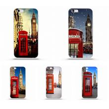 Para HTC deseo 530, 626, 628, 630, 816, 820 A9 M7 M8 M9 M10 E9 más U11 para Moto G G2 G3 de TPU estampado Vintage Londres Tele caja