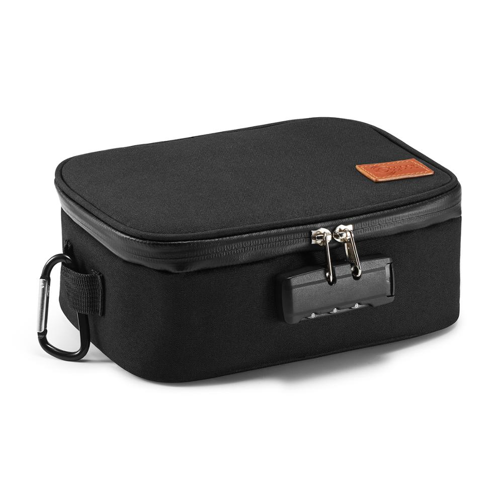 Free Shipping Travel Storage Bag Smell Proof Case Smoke Bag  Travel Cartridge Case Cigar Bag Tobacco Bag