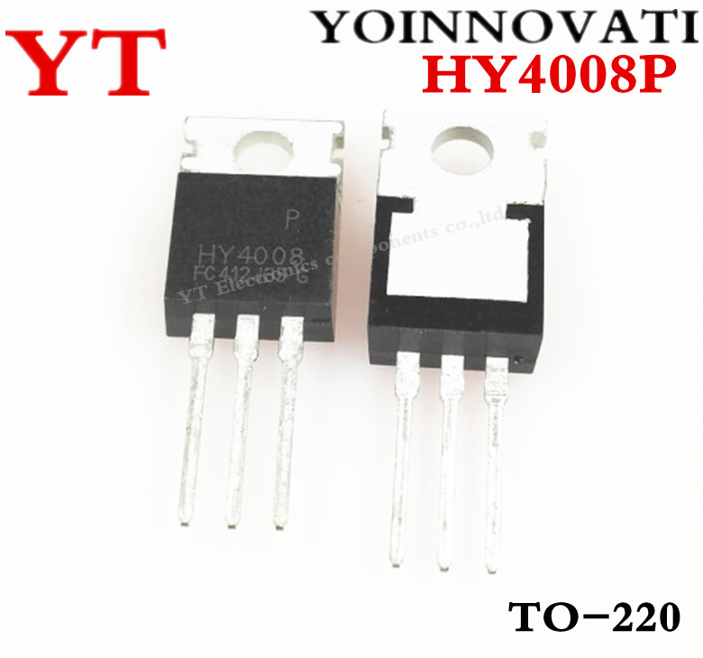 Free shipping 50pcs/lot HY4008P HY4008 4008 TO220  IC Best quality.