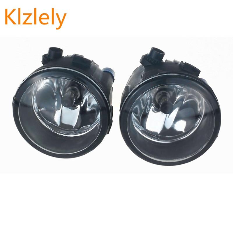 For NISSAN TIIDA SC11X CUBE Quest 2006-2012 Car styling fog lights (Left + right) Halogen lamps 1set 26150 89905 for nissan almera 2 ii hatchback n16 2001 2006 car styling fog lamps 55w halogen lights 1set