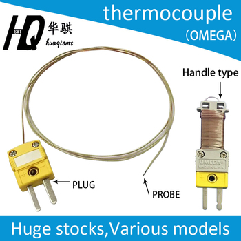 цена на thermocouple with cable used in the kic profile TT-K-30 Thermometer Probe Temperature Measurement Sensitive Line K Type