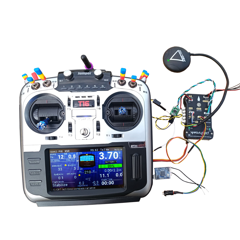 Jumper T16 Yaapu Telemetry Converter Cable Pixhawk To T16 Frsky X10S X12S  X9DP QX7/X7S Smart Port Receiver X8R X4R RXSR R9MM