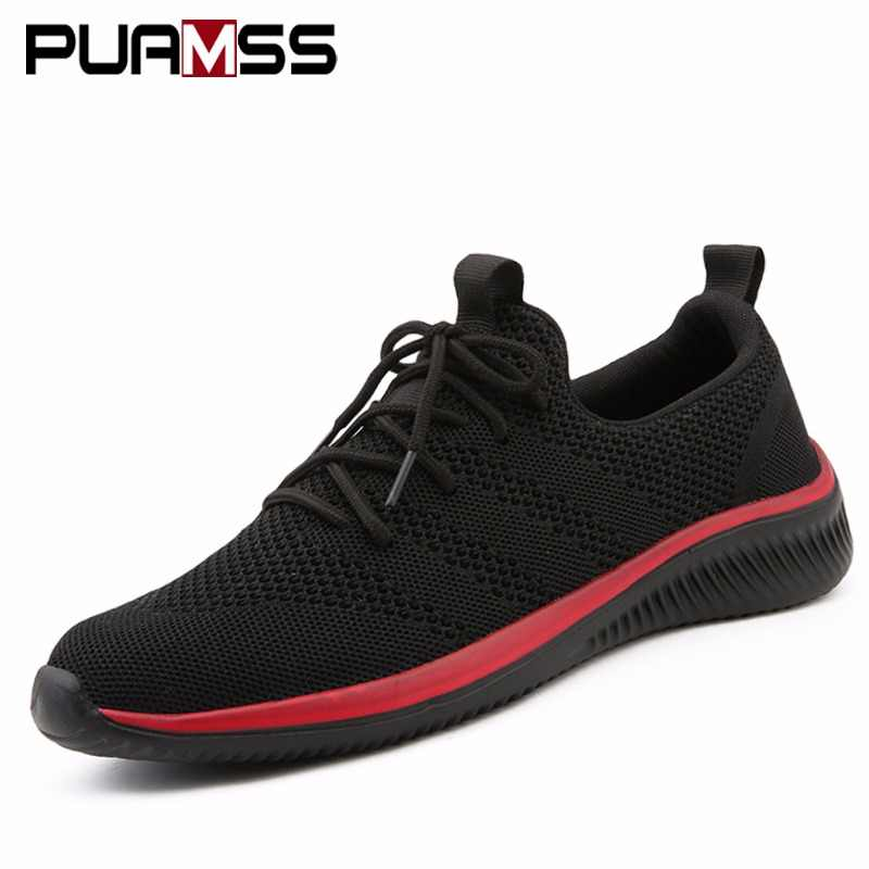 Men Running Shoes Comfortable Sport Shoes Men Trend Lightweight Walking Shoes Men's Sneakers Breathable Zapatillas Men Sneakers