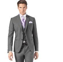 Jacket Pants Vest font b Men b font Business font b suit b font Notch