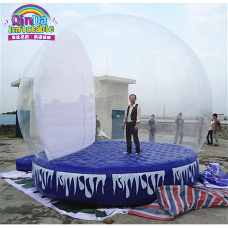 inflatable snow globe16