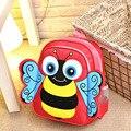 2016 Nylon school bags backpacks Boys girls cartoon Bee snack bags backpacks kawaii gifts kindergarten bee travel bags backpacks