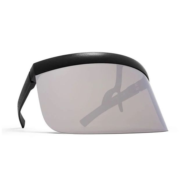 8e50ff71e5 Futuristic Oversize Shield Visor Sunglasses Flat Top Mirrored Mono Lens  172mm sand glasses frame integration Sunglasses XL