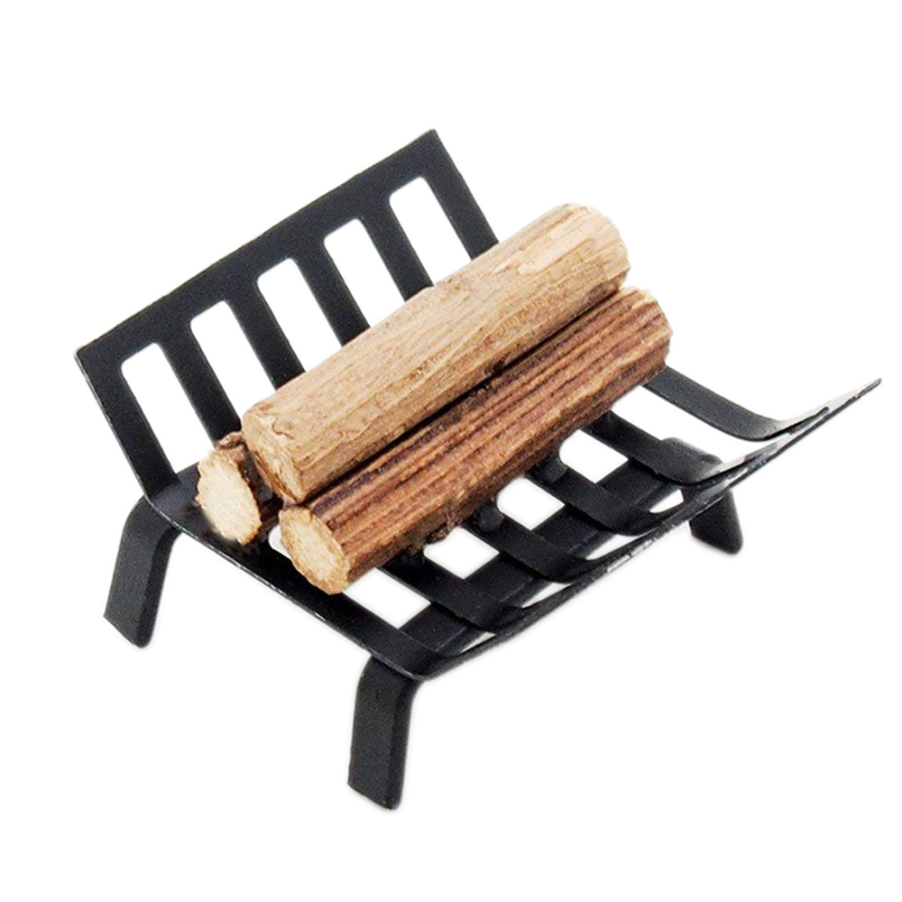 Awesome Us 3 99 10 Off Odoria 1 12 Miniature Metal Log Rack Firewood Storage Holder Black Fairy Garden Dollhouse Outdoor Accessories In Furniture Toys From Gmtry Best Dining Table And Chair Ideas Images Gmtryco