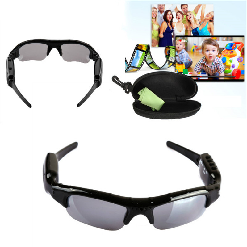 2017 New Digital Video Recorder Camera DV DVR Eyewear Sunglasses Camcorder Recorder Support TF card For