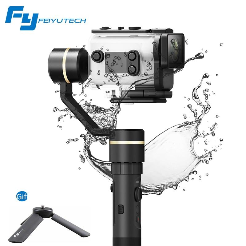 FeiyuTech Feiyu G5GS cardan 3 axes stabilisateur de poche pour Sony AS50 AS50R Sony X3000 X3000R caméra étanche aux éclaboussures pour 130g-200g