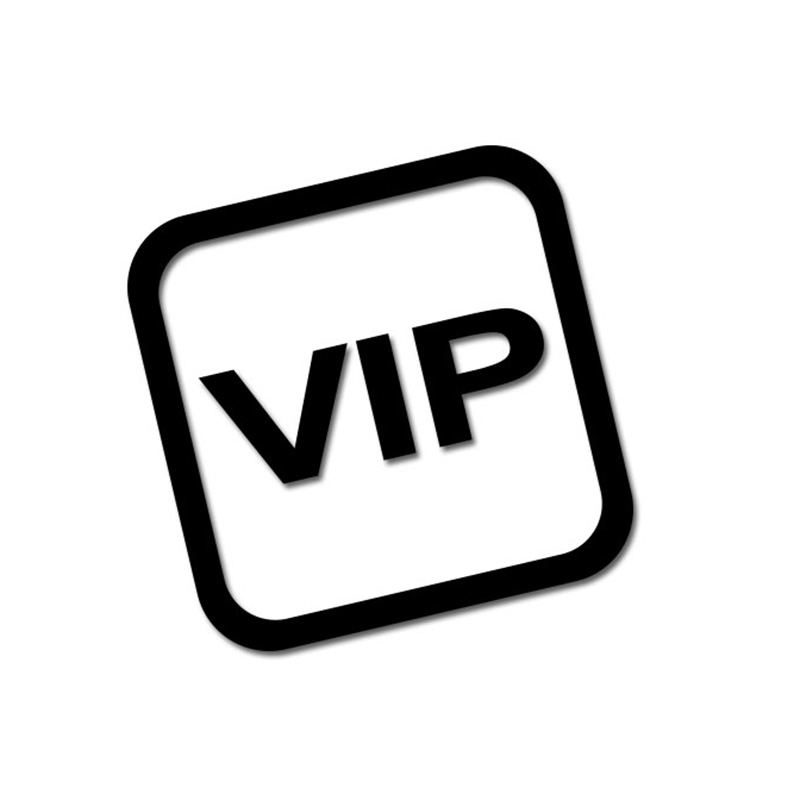 6*6cm VIP NO Photo Smoking Weapon Pet Carsex Phone Drink Poker Dice Beauty Only Car Styling Sticker Texi Bus Warning Signs Decal