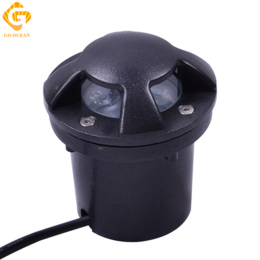 Led Underground Lamps Outdoor Stair Light 3w 12v/dc Ip67 Waterproof Garden Lighting Recessed Deck Lights Buried Decorative Lamp Relieving Heat And Sunstroke Lights & Lighting Led Lamps