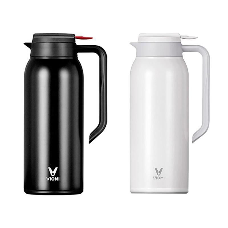 Xiaomi VIOMI 1.5L Kettle Thermo Cup Stainless Steel Vacuum Flask Thermos Bottle Cup Portable Insulation Water Kettle 24h creative fashion portable stainless steel vacuum cup