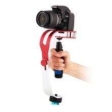 Caliente la moda de nueva portátil de cámara dslr estabilizador steadicam motion para dslr dv videocámara para sony para canon para gopro hero cámara