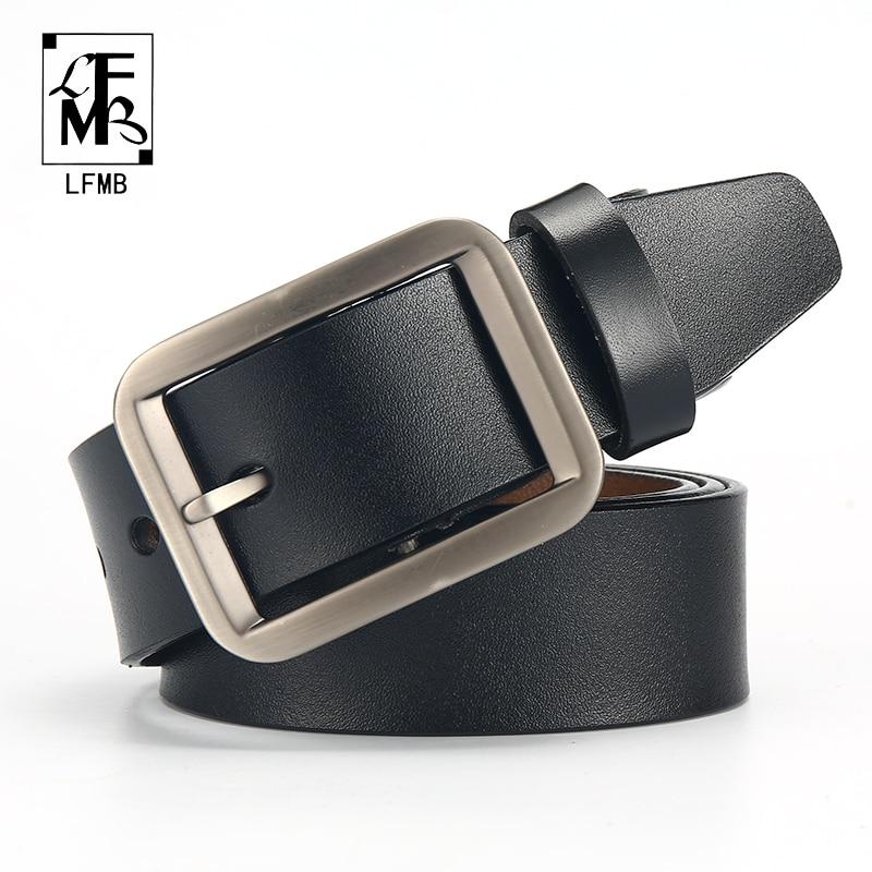 Men's Belts Dynamic Automatic Buckle Split Leather Men Casual Belts Black Blue Brown Crocodile Belt For Men High Quality Ceintures Homme