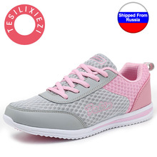 New Summer Zapato Women Breathable Mesh Zapatillas Shoes For Women Network Soft Casual Shoes Wild