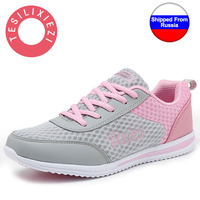 2016 New Summer Zapato Women Sports Breathable Mesh Zapatillas Shoes For Women Network Soft Casual Shoes