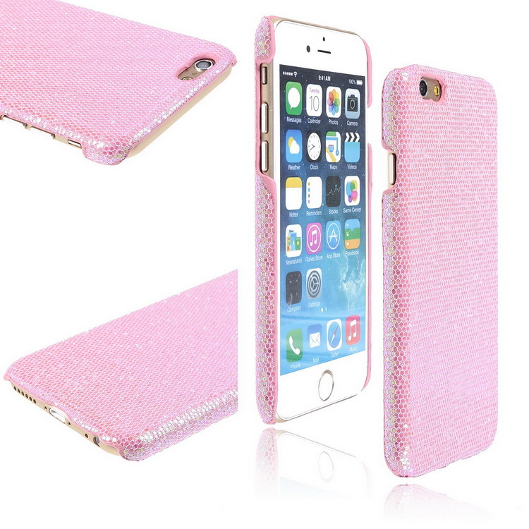 2015 New TPU Phone Case For Apple/iPhone 6 4.7 Pink Color