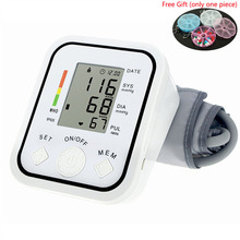 Digital Blood Pressure Monitor 22-48cm Blood Pressure Cuff LCD Sphygmomanometer oximeter tonometer Arm Adult Blood Pressure Cuff стоимость