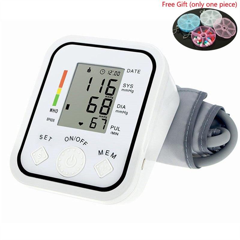 Blood Pressure Digitales Blutdruckmessgerät 22-48 Cm Blutdruckmanschette Lcd Blutdruckmessgerät Oximeter Tonometer Arm Erwachsene Blutdruckmanschette Dinge FüR Die Menschen Bequem Machen Gesundheitsversorgung