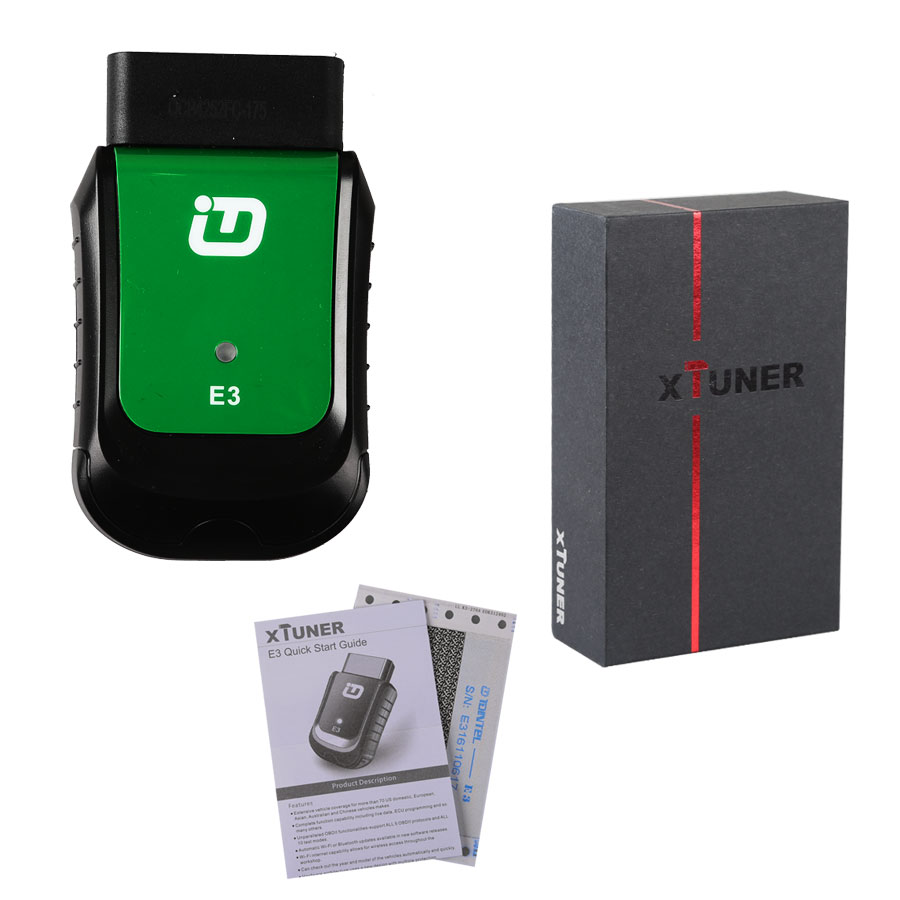 XTUNER E3 WINDOWS 10 Wireless OBDII Diagnostic Tool Pefect Replacement For VPECKER Easydiag