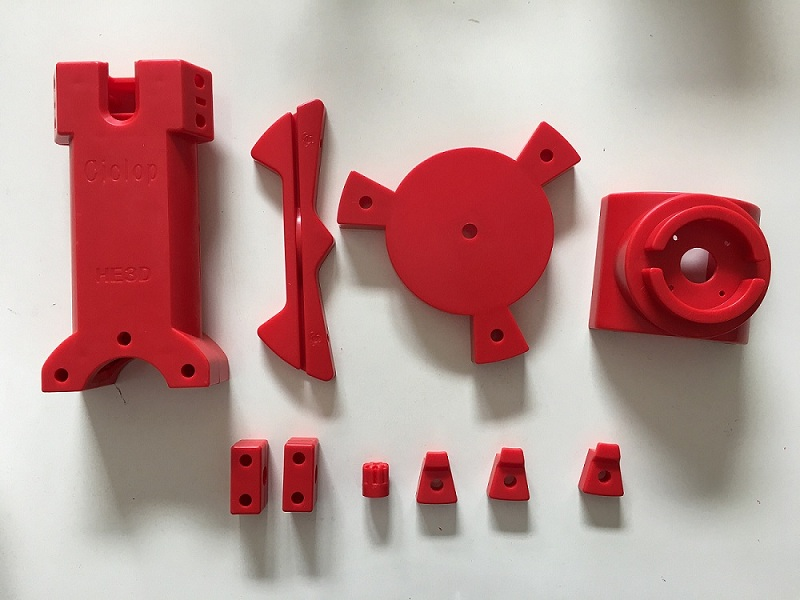 Red Injection Molded Parts for DIY BQ Ciclop 3D scanner Open Source Project Engineering, Instead of Printed Parts free shiping ciclop diy 3d three dimensional scanner adapter plate precision machine parts for 3d printer parts