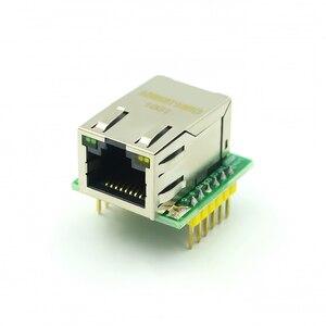 Image 4 - 5PCS/LOT USR ES1 W5500 Chip New SPI to LAN/ Ethernet Converter TCP/IP Mod