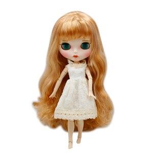 Image 2 - 氷幸運日ブライス人形ヌード通常と共同体と手セットabギフトとしてbjdファッションドール女の子のおもちゃ