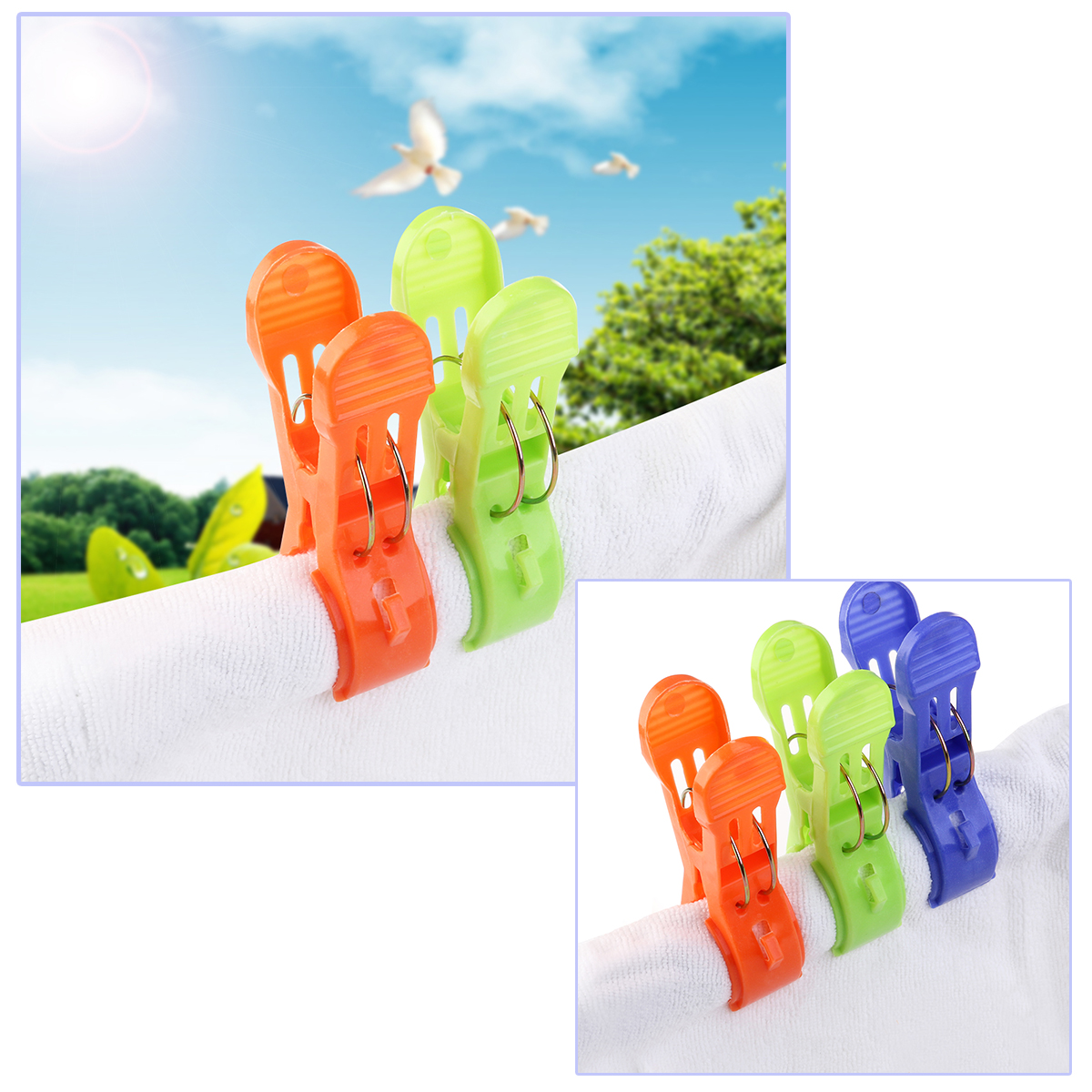 Plastic Bed Sheet Clips
