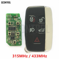 QCONTROL Car Remote Smart Key 315MHz 434MHz Suit For Land Rover Discovery 4 Freelander For Range