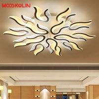 Mooskolin Acrylic Thick Modern Led Ceiling Lights For Living Room Bedroom Dining Room Home Ceiling Lamp