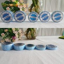 Синяя рулонная лента для волос двухсторонняя лента для поддержки фронта шнурка ShowCoco сильная клейкая лента для парика парик человеческие волосы для наращивания