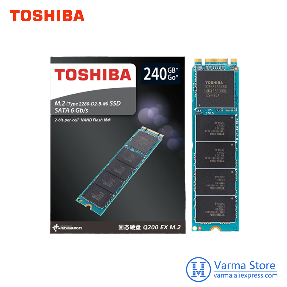 Toshiba Q200EX Series 240G M.2 2280 Solid State Drive Compatible with SATA 3Gbit / s and SATA 1.5Gbit / s Computer Hard Drives утюг philips gc5033 80 3000вт черный бронзовый