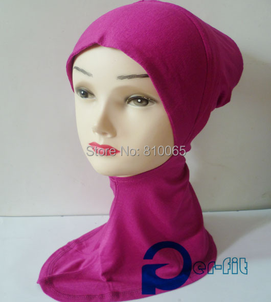 ninja underscarf neck cover cancer hat scarf viscose HeadWrap head cover Hat Bandana 14 Colour 20pcs/lot free ship