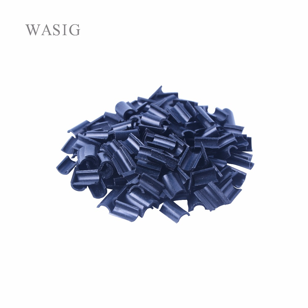 100pcs Keratin Glue for Hair Nail Tip Keratin U-Shaped Fusion Chips Glue Nail Tip Keratin Nail Tip for hair extension