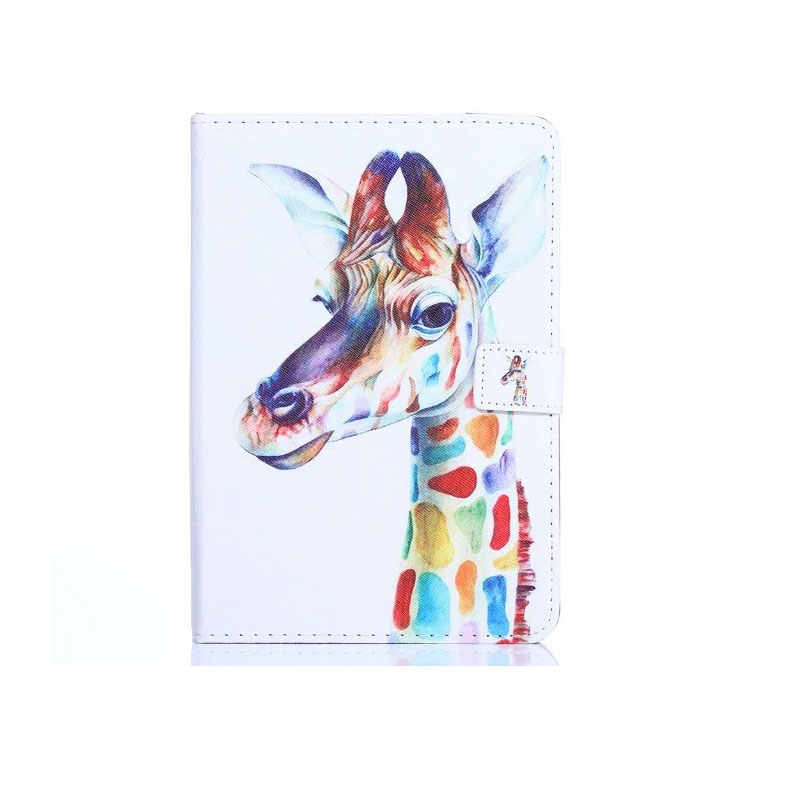 Myslc универсальный чехол для эффект Теслы/неоновый цвет/магнит 8,0 3g 8 дюймов планшет Печатный PU кожаный чехол-подставка