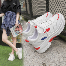 2019 New Chunky Sneakers for Women Sports Vulcanize