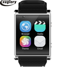 MTK6580 X11 Android 5.1 Smartwatch Relógio Inteligente Com Pedômetro Câmera 5.0 M 3G WIFI GPS WIFI Posicionamento SOS Cartão movimento do Relógio