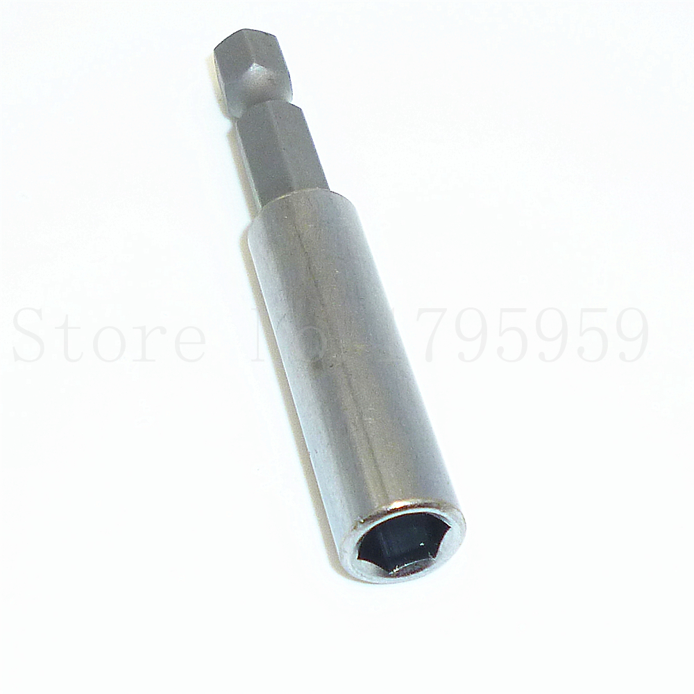 "Hex Shank Quick Release Drill Screw Magnetic Screwdriver Bit Holder 1//4""60mm"