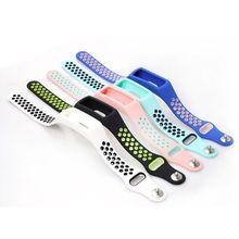 Sport del Silicone Cinturino Da Polso Watch Band per Huawei Honor Fascia 4 Standard Versione di Smart Orologio qiang