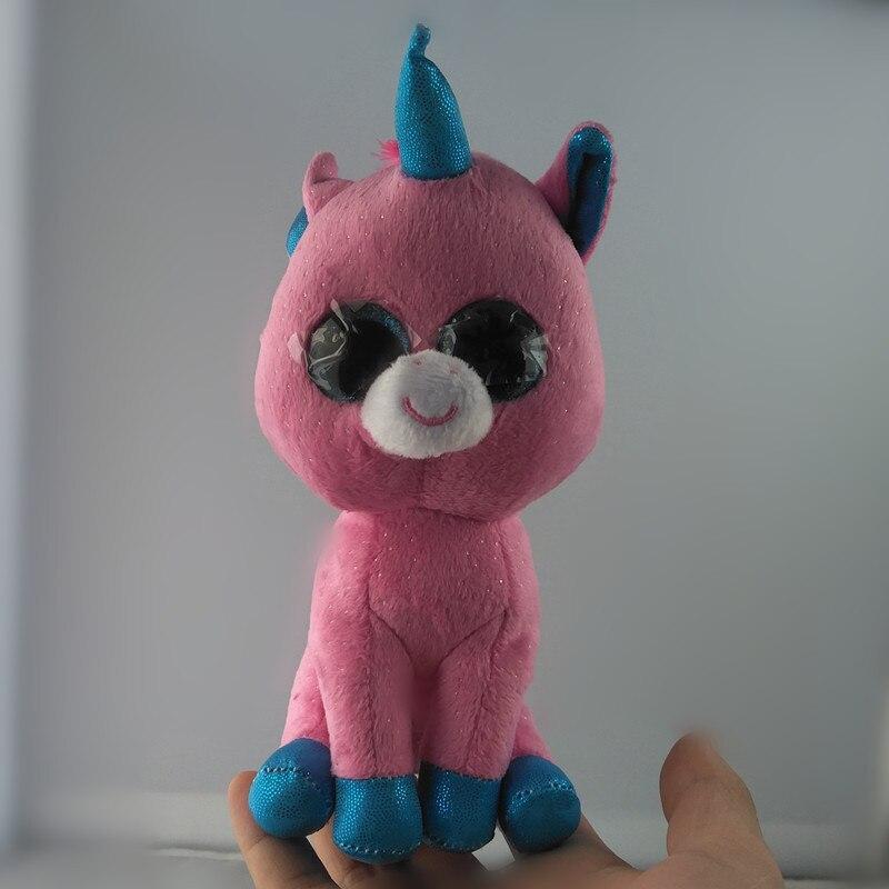 6 15 см Ty Beanie Боос Pixy-Розовый Единорог reg плюшевые младенцев кукла игрушка Коллекционная Мягкая Большой средства ухода для век плюшевые Игру...