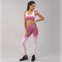 new arrived thick seamless pink leggings women high waist legins push up workout leggins winter fitness gym sportswear clothes