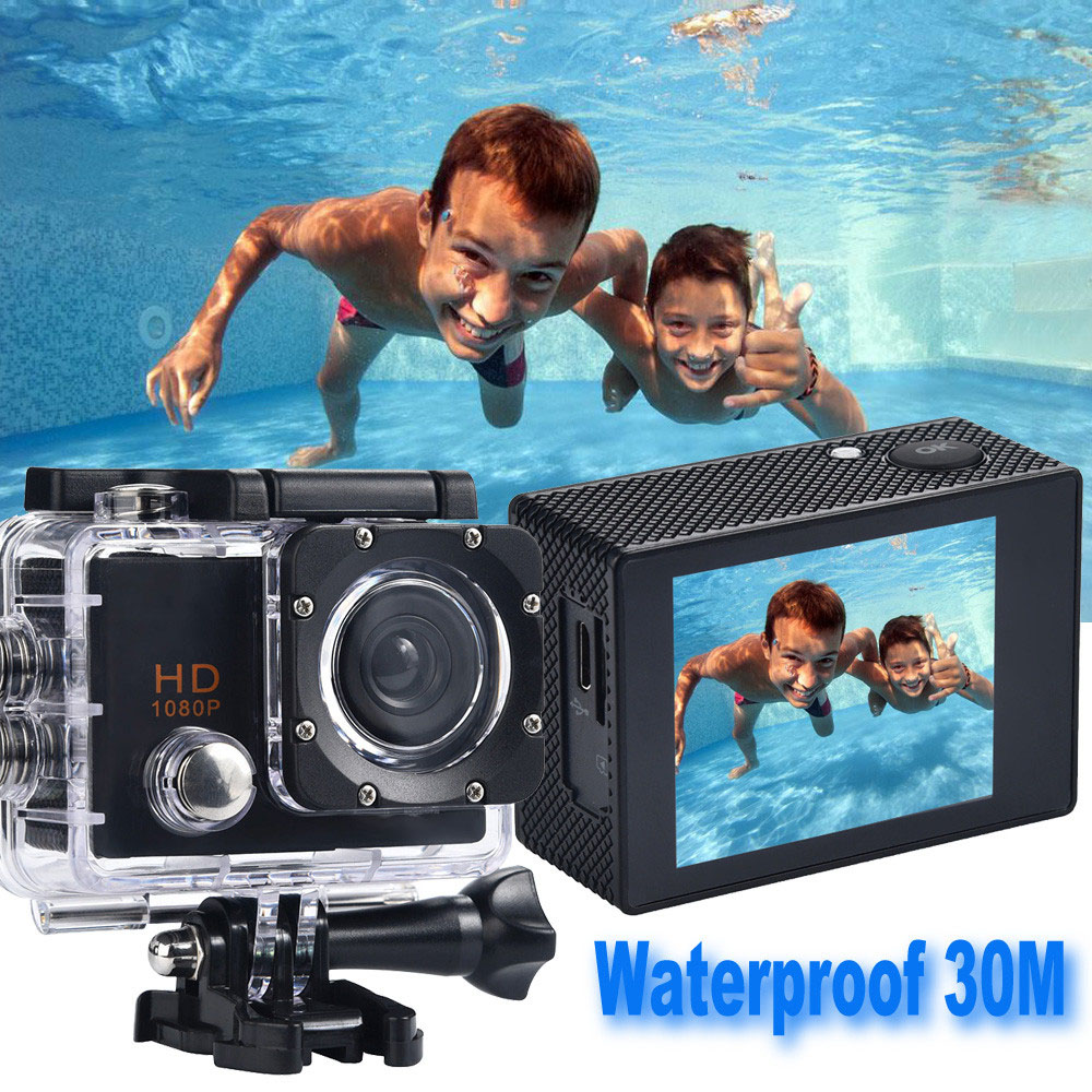 2018 Waterproof Camera HD 1080P Sports Action Came...