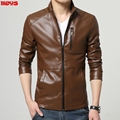 men's leather men's new PU leather jackets men's youth locomotive autumn outfit fashionable tide of cultivate