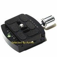 Quick Release Clamp Adapter W PU60 QR Plate M6 Screw For RRS Benro Sunwayfoto Arca Swiss Ball Head Tripod Monopod